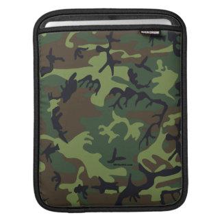 Green camouflage iPad Sleeve
