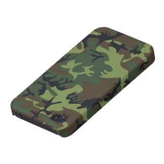 Green camouflage iPhone 4 Case