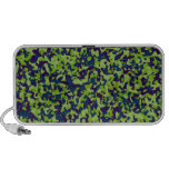 Green Camouflage Mp3 Speakers