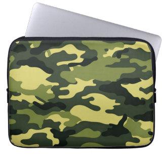 Green camouflage | Neoprene Laptop Sleeve