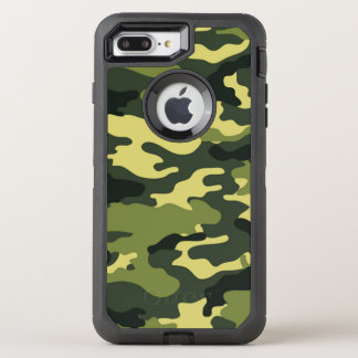 Green Camouflage OtterBox iPhone 7 Plus Case