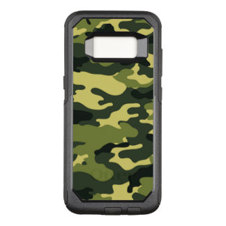 Green Camouflage OtterBox Samsung Galaxy S8 Case