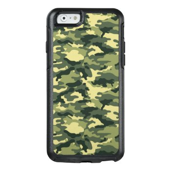 Green Camouflage Pattern Otterbox Iphone 6/6s Case by bestgiftideas at Zazzle