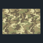 "Green Camouflage Pattern Placemat<br><div class=""desc"">Green Camouflage Pattern</div>"