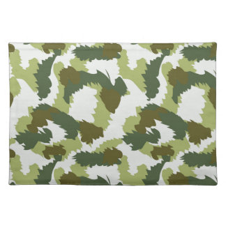 Green Camouflage pattern Placemat