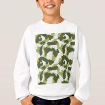 Green Camouflage pattern Sweatshirt