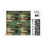 Green Camouflage Postage