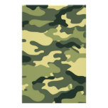 Green Camouflage Scrapbook Crafting Paper Stationery Paper
