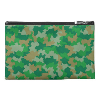 Green Camouflage Travel Accessory Bag