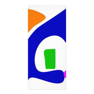 Green Candle Rack Card Design