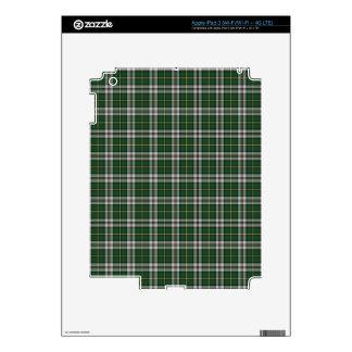 Green cape Breton tartan iPad 3 Skin