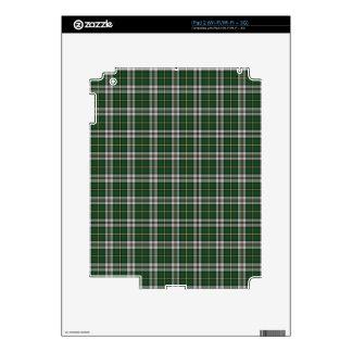 Green cape Breton tartan Skin For iPad 2