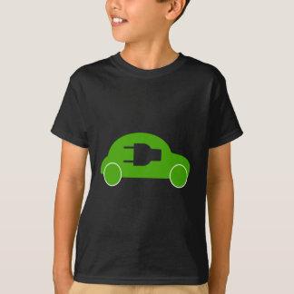 Green Car Eco Auto Electric Automobile T-Shirt