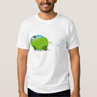 Green Car Men's T-Shirt