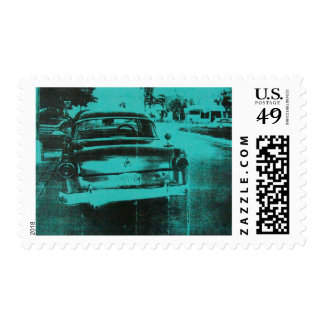 Green car postage