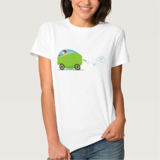 Green Car Women's T-Shirt