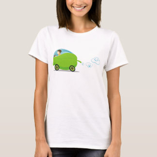 Green Car Women's T-Shirt