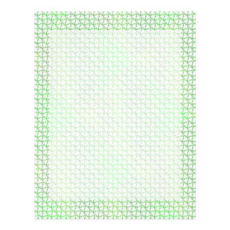Green Caring Recycle for the World Earth Day Letterhead