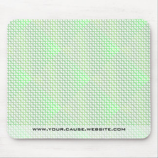 Green Caring Recycle for the World Earth Day Swag Mouse Pad