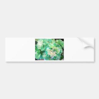 Green Carnation Bumper Sticker