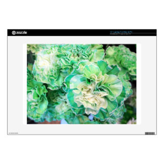 Green Carnation Decals For Laptops