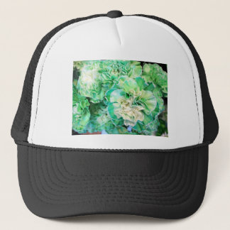 Green Carnation Trucker Hat