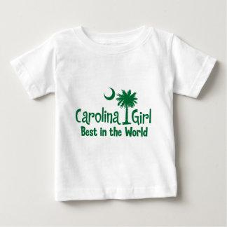 Green Carolina Girl Best in the World Baby T-Shirt