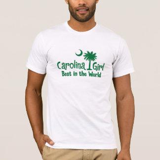 Green Carolina Girl Best in the World T-Shirt