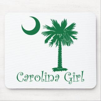 Green Carolina Girl Palmetto Mouse Pad