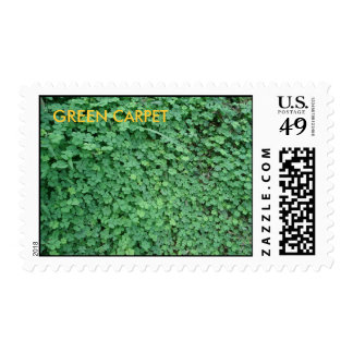 GREEN CARPET STAMPS