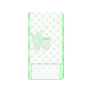 Green Carriage Hersheys Miniature Candy bar wrap Label