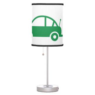 green cars desk lamp