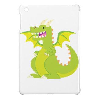 Green Cartoon Dragon Cover For The iPad Mini