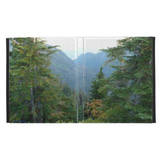 Green Cascade Mountains Ipad cover iPad Folio Cover