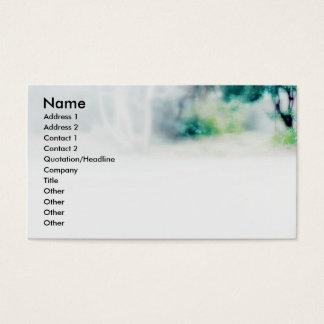 Green/Cat Business Card