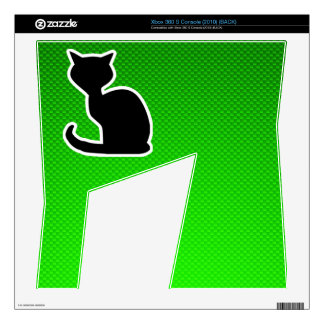 Green Cat Decal For Xbox 360 S