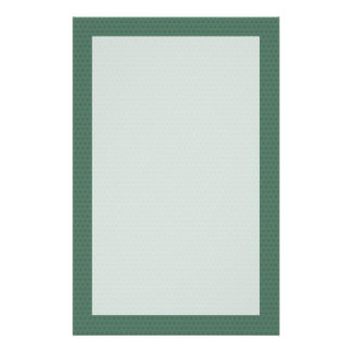 Green Cathedral Arch Stationery