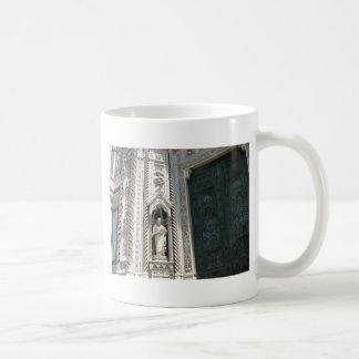 Green Cathedral Door Coffee Mug