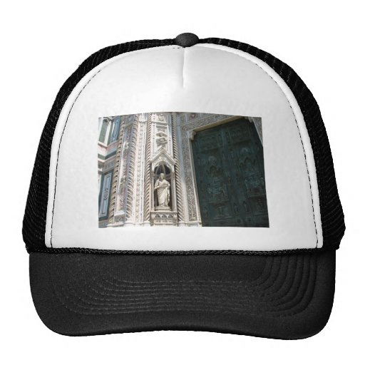 Green Cathedral Door Hat