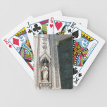 Green Cathedral Door Poker Cards