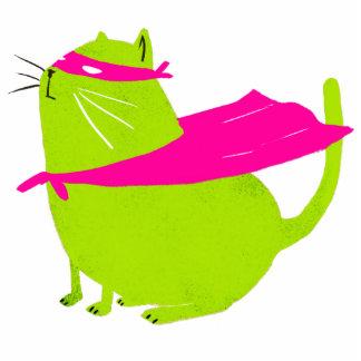 Green Catman Photo Sculpture Magnet