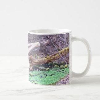 Green Cave Coffee Mug