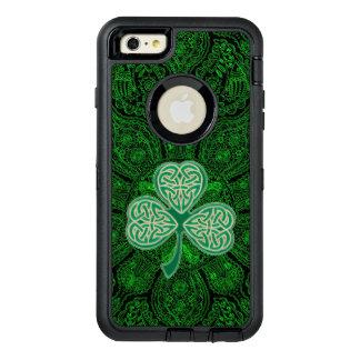 Green Celtic Clover Mandala Otterbox Case