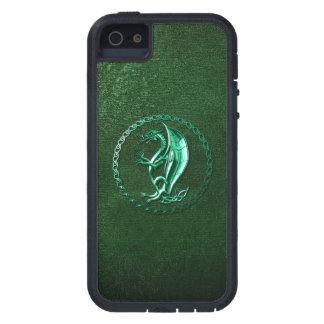 Green Celtic Dragon iPhone 5 Covers