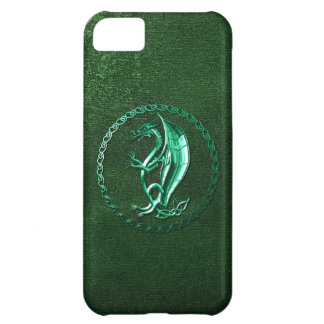 Green Celtic Dragon Case For iPhone 5C