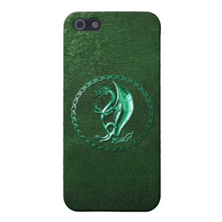 Green Celtic Dragon Cases For iPhone 5