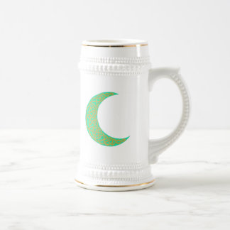 Green Celtic Moon mug