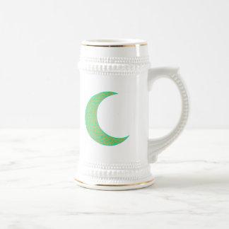Green Celtic Moon mug