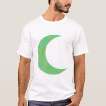 Green Celtic Moon shirt