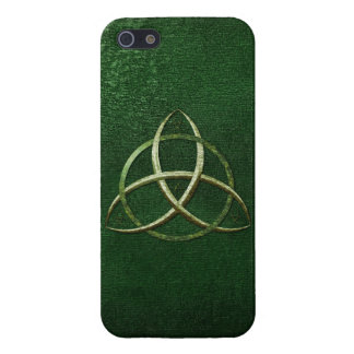 Green Celtic Trinity Knot Case For iPhone SE/5/5s